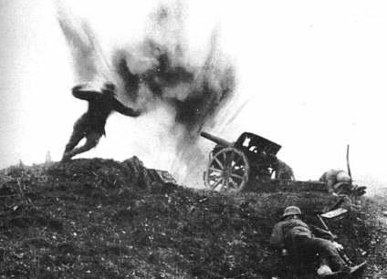 la-artilleria-alemana-bombardeada